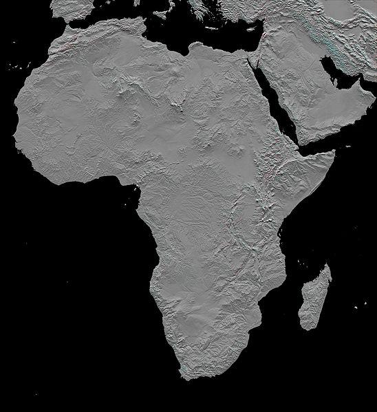 Carte De Lafrique Noir Et Blanc.Cartes De L Afrique