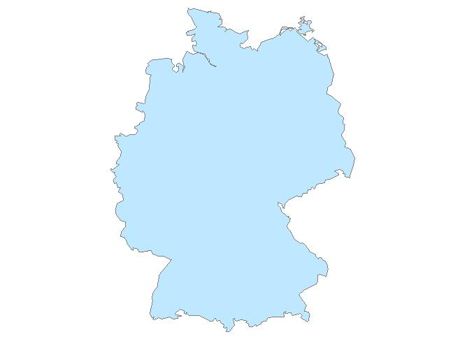 Carte Allemagne Facile.Cartes Et Cliparts