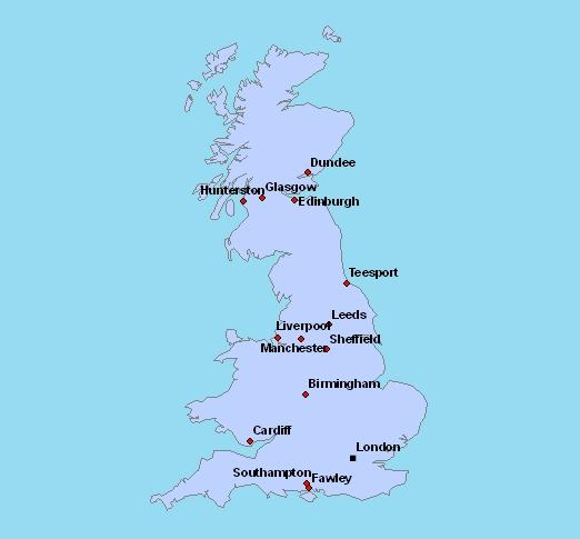 Carte De Langleterre Vierge.Cartes De L Angleterre