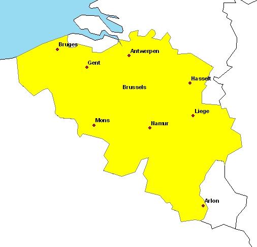 map belgium map belgium