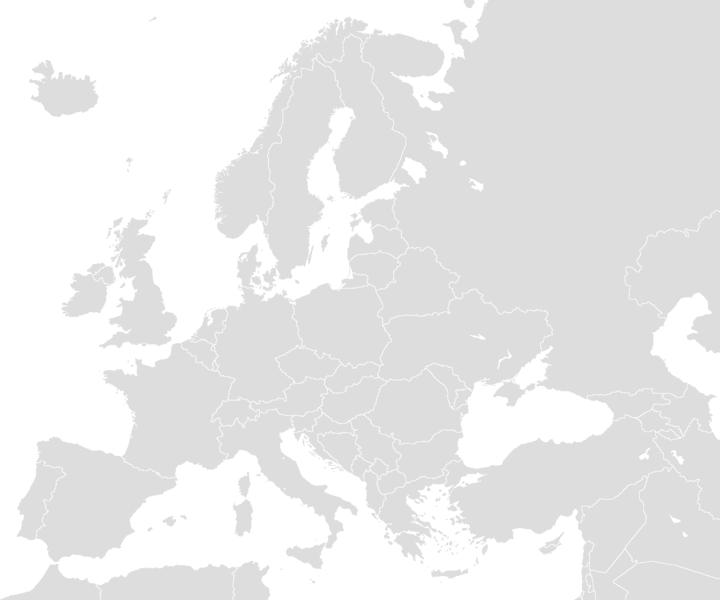carte europe png