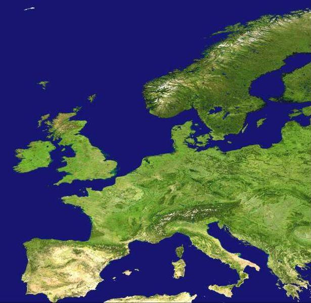 cartes de l u0026 39 europe physique
