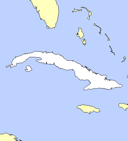 Cartes de Cuba