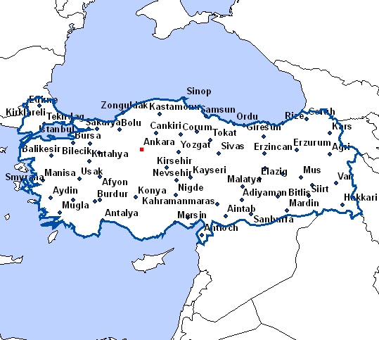 carte-de-turquie-avec-les-villes