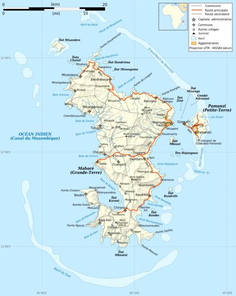 Cartes Iles du Monde